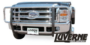 luverne chrome stainless grille guard