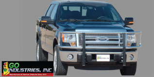 go industries big tex chrome grille guard
